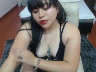 Sexet profilfoto af model AgathaCruz, til meget hot live show webcam!