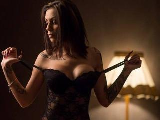 Sexet profilfoto af model SweetElaKat, til meget hot live show webcam!