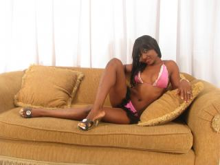Picture of the sexy profile of Ebonydiva, for a very hot webcam live show !