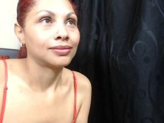 Picture of the sexy profile of CattleyaHot, for a very hot webcam live show !