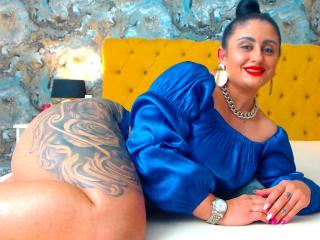 Sexet profilfoto af model MonikHotLove, til meget hot live show webcam!