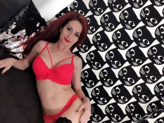 Picture of the sexy profile of RedKitty, for a very hot webcam live show !