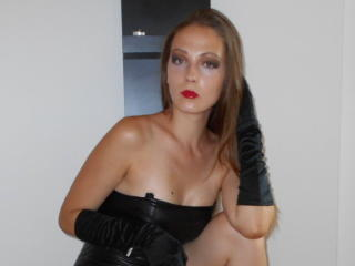 Picture of the sexy profile of LadyFetish, for a very hot webcam live show !