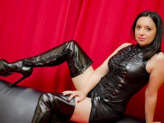 Foto de perfil sexy da modelo JustBelle, para um live show muito quente!