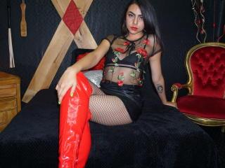 Foto del profilo sexy della modella BellaDominna, per uno show live webcam molto piccante!