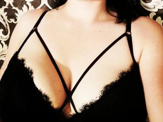 Sexet profilfoto af model PantherDark, til meget hot live show webcam!