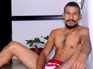 Photo de profil sexy du modèle Ferguss, pour un live show webcam très hot !
