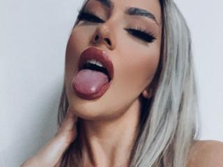 Sexet profilfoto af model MariaFontaine, til meget hot live show webcam!