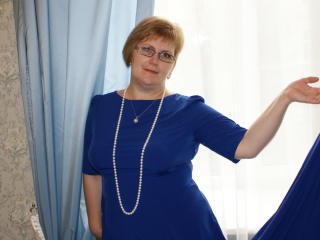 VioletMorning - Web cam xXx with a European Mature