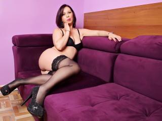 Photo de profil sexy du modèle LauraSin, pour un live show webcam très hot !