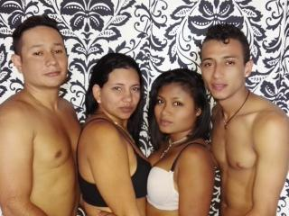 Picture of the sexy profile of LatinXGpFoursome, for a very hot webcam live show !