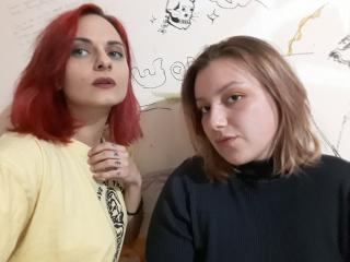 Foto del profilo sexy della modella RimmaAndLena, per uno show live webcam molto piccante!