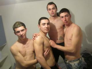 Picture of the sexy profile of FourLustyTwinks, for a very hot webcam live show !