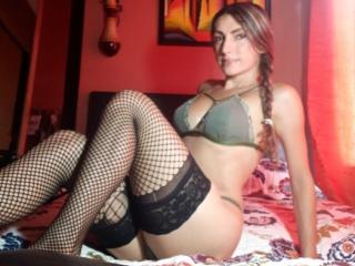 Photo de profil sexy du modèle CelesteHot69, pour un live show webcam très hot !