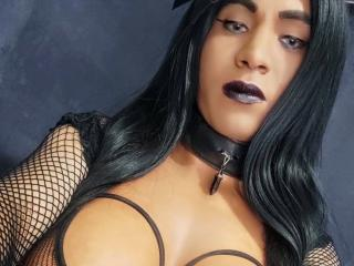 Photo de profil sexy du modèle SexySuna, pour un live show webcam très hot !