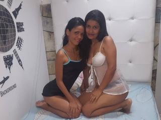 Foto van het sexy profiel van model BrendyAndKitana, voor een zeer geile live webcam show!